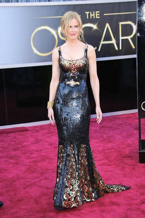 Nicole+Kidman+Oscars+2013+LWren+Scott+1