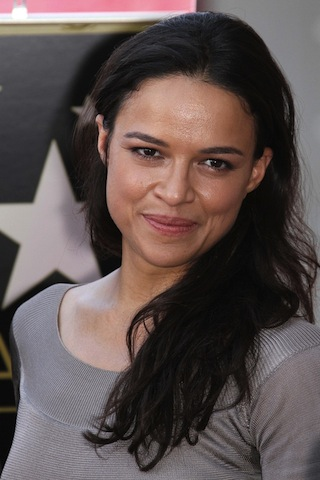 Michelle Rodriguez at the Vin Diesel Star on the Hollywood Walk of Fame Ceremony, Hollywood, CA 08-2